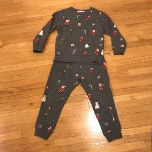 H&M Christmas sweat suit set!